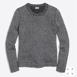 J. Crew Factory Lurex Classic Crew Sweater